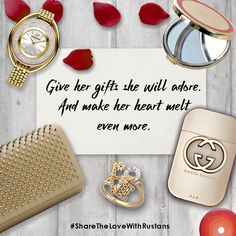 Let her unwrap her favorite style essentials this Valentine's day with these gift ideas.