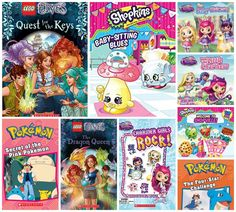 The Review Wire: Girls Scholastic Prize Pack Giveaway. Ends 4/24/17   #worldbookday #kids #reading #parents