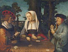 van Leyden, LucasLeiden, c. 1494-1533 The Card Players