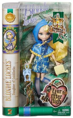 Ever After High THROUGH THE WOODS BLONDIE LOCKES DOLL NEW IN HAND in Dolls & Bears | eBay