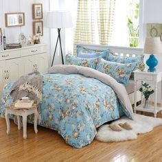 Bedding 4pcs Bohemian Bedding Set Polyester Cotton Soft Bed Linen Duvet Cover Pillowcases Bed Sheet Sets Home Textile Coverlets