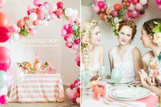 festa flamingo, festa rosa, despedida, chá de paneça, chá de lingerie, festa casamento, festa romântica, rosa