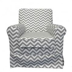 Custom slipcover tailored to fit the IKEA Ektorp Jennylund Chair