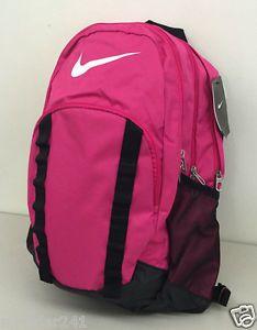 NIKE BRASILIA 7 XL BACKPACK Spark / Black BZ9717 601 #Nike #BackPack #Pink #Women #Bag