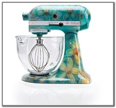 Un Amore  Custom Kitchen Aid Mixer Painting. Starts At $50 | Things I LOVE  | Pinterest | Kitchen Aid Mixer, Products And Custom Kitchens
