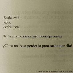 Perdí la razón por ti