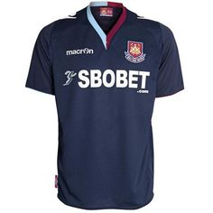 141506b54 West Ham United FC Away Shirt Short Sleeve 12 13