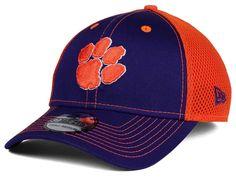 6f9ee409dee Clemson Tigers New Era NCAA Team Front Neo 39THIRTY Cap