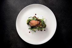 """""""Il piccione nell'orto"""" dello chef Sabrina Tuzi del Ristorante Degusteria del Gigante di San Benedetto del Tronto (AP)  #lamadia #lamadiatravelfood #food"""