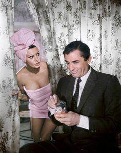 Sophia Loren & Gregory Peck
