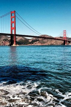 The Golden Gate Bridge is a San Francisco icon! What else comes to mind when you think of the city? San Francisco Airport, Local Attractions, International Airport, Golden Gate Bridge, California, City, Travel, Viajes, Cities