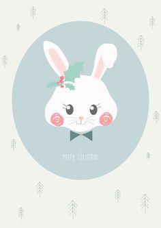 Petite Louise 'Kaart Merry Christmas'