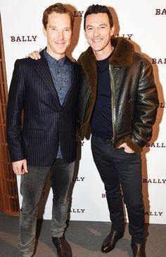 Luke Evans and Benedict Cumberbatch!!