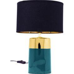 Lampe de table Zelda 33 cm Kare Design KARE DESIGN - Lampe de chevet Kare Design, Design Bleu, Zelda, Decoupage, Ornament, Lighting, House, Unique, Home Decor