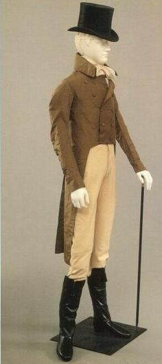 Regency Gentleman People seem to think that regency clothing wasn& revelling but it actually was for the men 1800s Fashion, 19th Century Fashion, Victorian Fashion, Victorian Dresses, Steampunk Fashion, 18th Century, Men's Fashion, Regency Dress, Regency Era