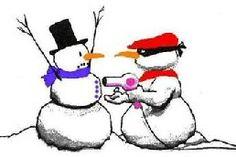 Christmas snowman ransom