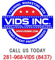 VIDS INC. is a Houston-based film/video production company specializing in ultra-HD Houston corporate videos and website video productions. http://vidsinc.com