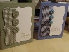 Chit Chats and Crafts : Masculine Cards