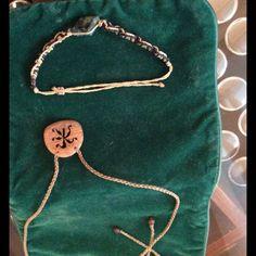 Yoga Jewelry! Wood & Stone Necklace & Bracelet