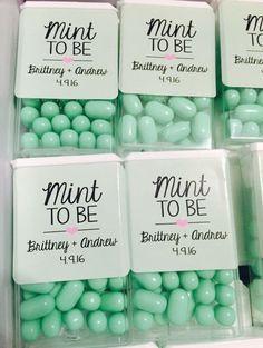 Personalized Tic Tacs | DIY Wedding Party Ideas for Couples #diyweddingideas