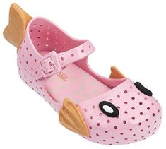 5f7c454d26a3 Mini Melissa Furadinha Shoes-Pink Fish