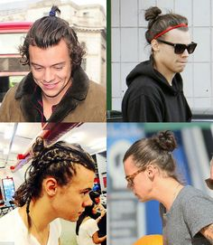 No quesito beleza masculina, o cantor inglês Harry Styles é referência. Confira o visual dele usando coque samurai