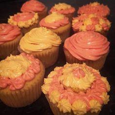 Rhubarb & Custard Cupcakes { Gluten Free }