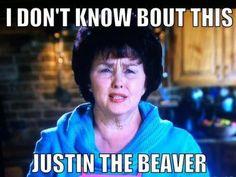 LOL. Justin The Beaver