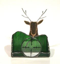 Your place to buy and sell all things handmade Business Card Holders, Business Cards, Glass Jewelry Box, Brown Texture, Glass Boxes, Stained Glass Projects, Hunter Green, Glass Ornaments, Colored Glass
