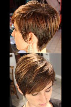 Love this short haircut!!