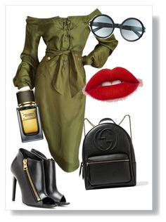 """Desert"" by shrougsd on Polyvore featuring Gucci, Tom Ford and Dolce&Gabbana"