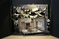Men Should Weep. (Model) Scenic design by Elliott Squire. 2015