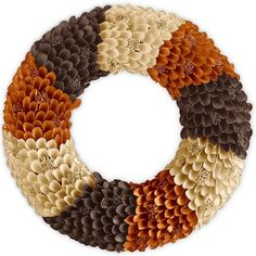 Natural Wood Curl Wreath | Pier 1 Imports