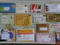The Envelope Project Snail Mail Pen Pals, Pen Pal Letters, Bullet Journal Writing, Happy Mail, Letter Writing, Mail Art, Zine, Mail Ideas, Arts And Crafts