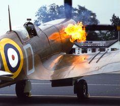 Firing up a Spitfire