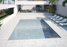 Image result for porcelain floor around pool Porcelain Floor, Pools, Patio, Flooring, Outdoor Decor, Image, Home Decor, Decoration Home, Room Decor