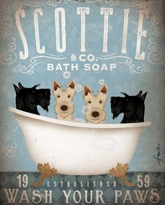 custom scottie bath change the est. to 2002 by geministudio