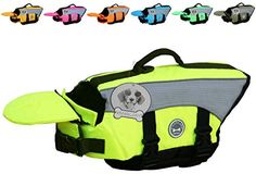 Dog Lifejackets - Vivaglory Dog Life Jackets with Extra Padding for Dogs XSmall  Extra Reflective Yellow *** You can get more details by clicking on the image. (This is an Amazon affiliate link)