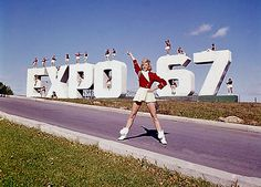 These 20 Pictures Of Montreal's Expo 67 Will Leave You Speechless. Expo 67 Montreal, Quebec Montreal, Montreal Ville, Canadian Rockies, World's Fair, Thailand Travel, Grand Prix, Tourism, Travel Photography
