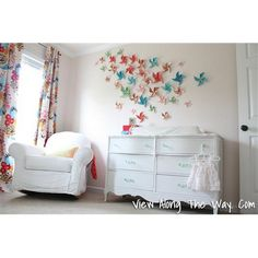 A wall of pinwheels that actually spin adorn this reader's baby girl's nursery. See the rest of this cheerful room here: 2013 TOH Dont Buy It, DIY It! Contest | thisoldhouse.com/yourTOH
