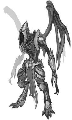Leaper Angel from Diablo III