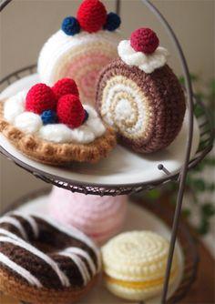 あみぐるみ講座*ふんわりロールケーキ : Backe -お教室開業、自宅カフェ開業 講座、パン教室