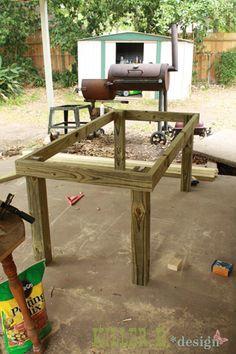 Outdoor Tiled Table: A How-To » Killer b. Designs | Killer b. Designs