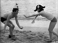 Audrey Hepburn and Albert Finney