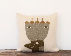 Decorative Pillow Flower Queen  soft knitted by ColetteBream, $89.00