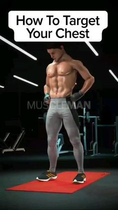 Easy Workouts, Workout Videos, Target, Back Exercises, Gym Style, Weight Training, Bodybuilding, Health Fitness, Abs