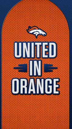 Stay United in Orange all week with NFL Mobile from Verizon and rid yourself of the fear of missing out on football. Denver Broncos Peyton Manning, Denver Broncos Football, Football Baby, Football Memes, Broncos Gear, Nfl Broncos, Broncos Wallpaper, Broncos Pictures, Football