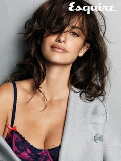 Spanish actress 'Penélope Cruz' has been awarded Sexiest Woman Alive,2014 by Esquire