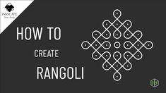 How to create Rangoli | Kolam | Indian Mandala | Inkscape Inkscape Tutorials, Indian Mandala, Create