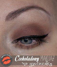 Make-up: Czekoladowy makijaż na Gwiazdkę Eyeliner, Blog, Movie Posters, Film Poster, Eye Liner, Blogging, Eyeliner Pencil, Billboard, Film Posters